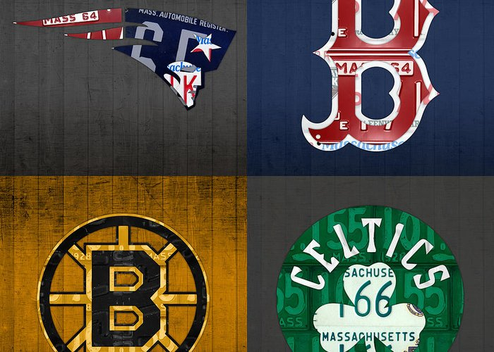 Boston Sports Greeting Cards