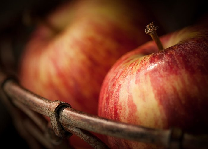 Apple Greeting Card featuring the photograph Bountiful by Amy Weiss