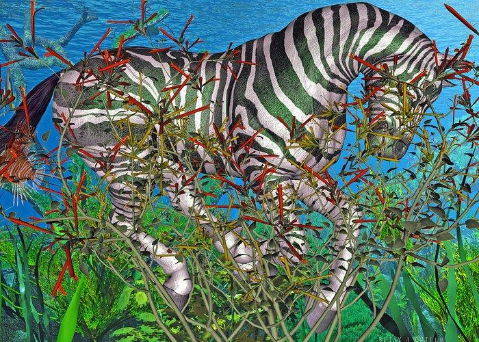 Plant Life Digital Art Greeting Cards