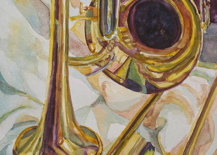 Brass Band Greeting Cards