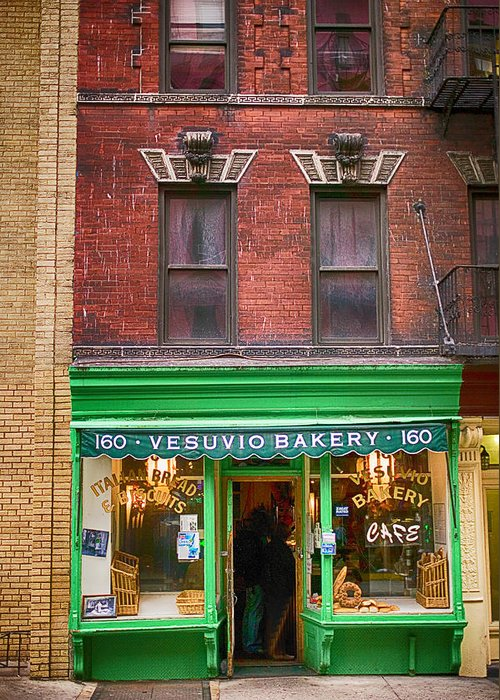 Vesuvio Bakery Greeting Cards