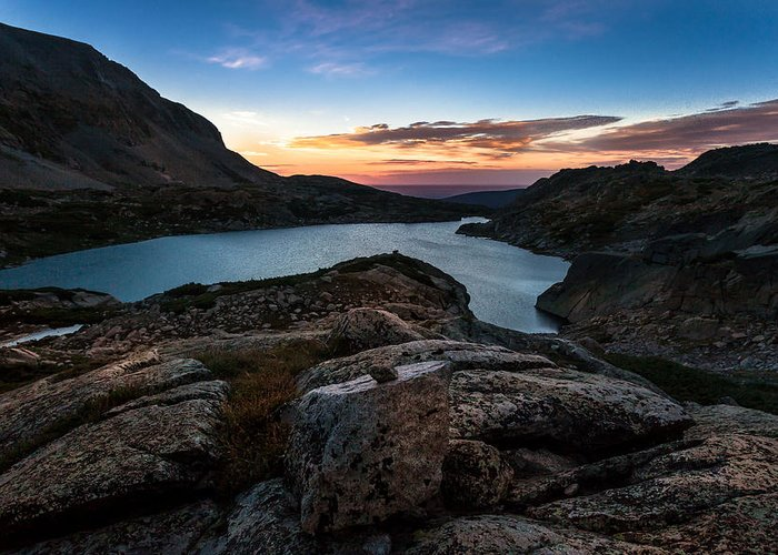 Nature Greeting Card featuring the photograph Breathless Sunrise by Steven Reed