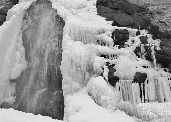 Waterfall Greeting Card featuring the photograph Bridal Veil Falls by Tonya Hance
