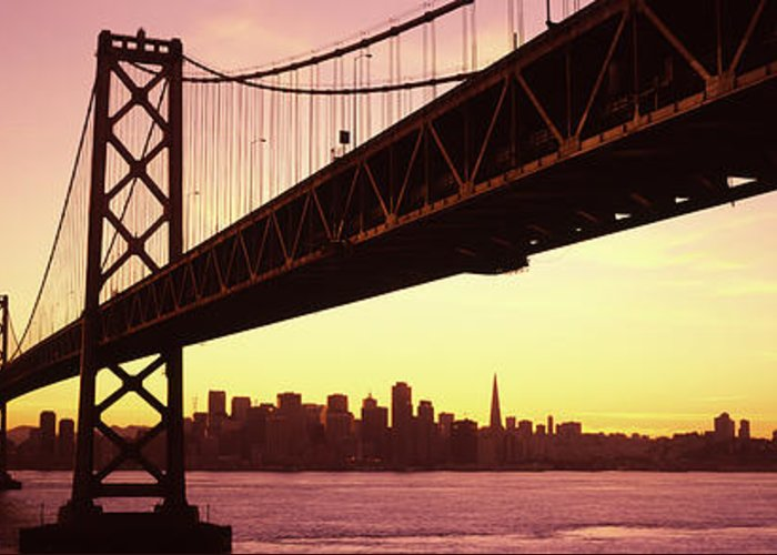 Oakland Bay Bridge Greeting Cards