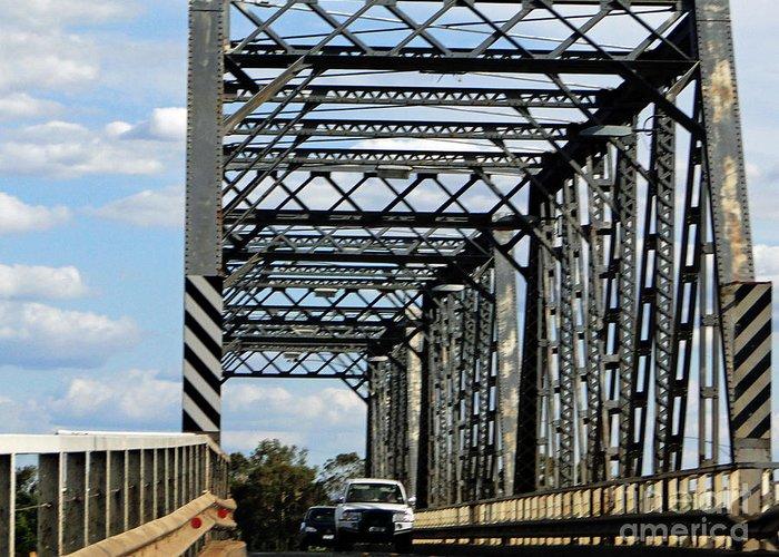 Bridge Greeting Card featuring the photograph Bridge by Ben Yassa
