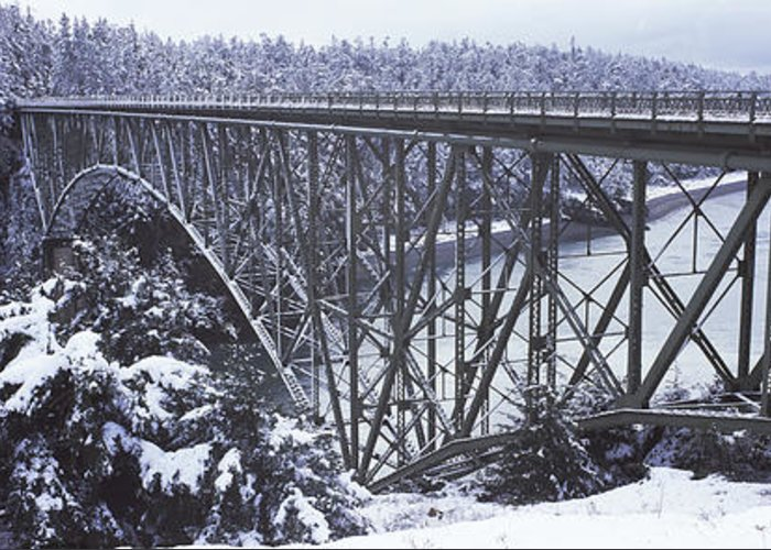 Deception Pass In Washington State Greeting Cards