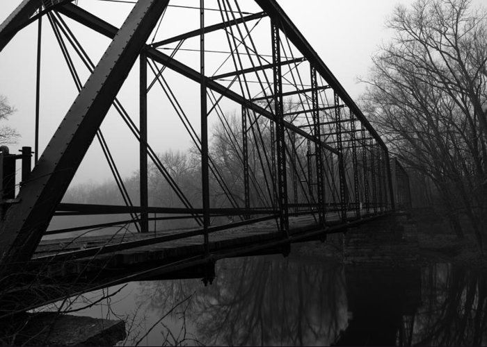 Bridge Greeting Card featuring the photograph Bridge by Off The Beaten Path Photography - Andrew Alexander