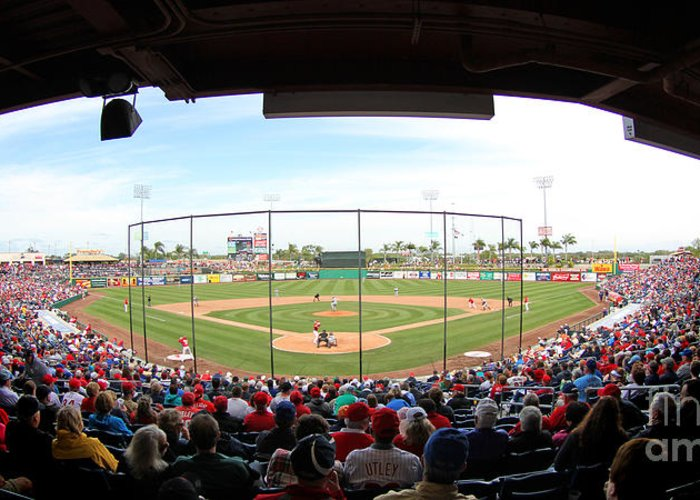 Phillies - Brighthouse Field Clearwater Greeting Cards