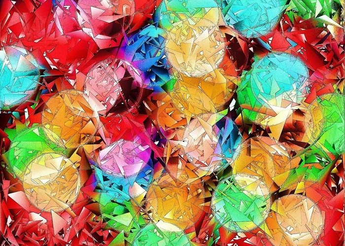 Digital Art Greeting Card featuring the digital art Broken Dreams 1 by Ludwig Keck