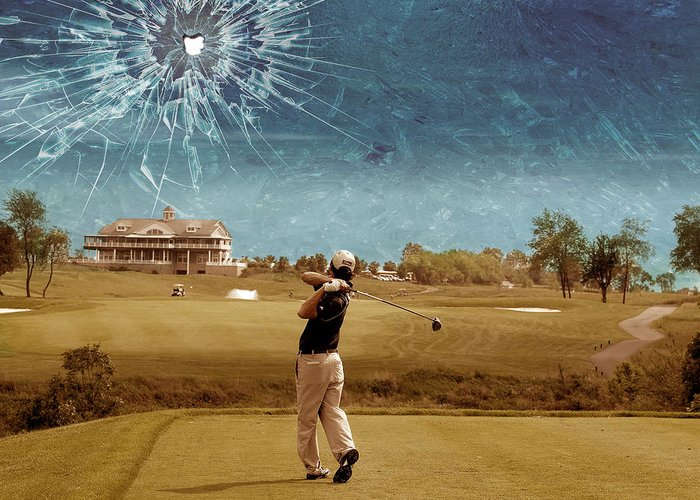Golf Scenery Greeting Cards
