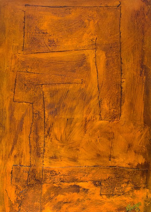 Bronce Paintings Greeting Cards