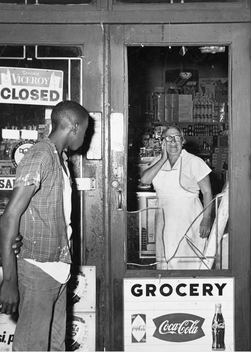 1964 Greeting Card featuring the photograph Brooklyn Riots, 1964 by Granger