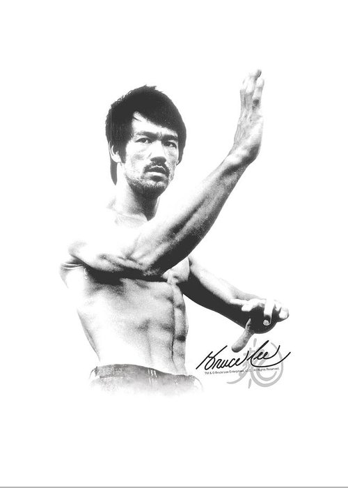 Bruce Lee Greeting Cards