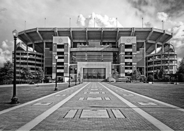 Bryant-denny Stadium Greeting Card featuring the photograph Bryant Denny Stadium 2011 by Ben Shields