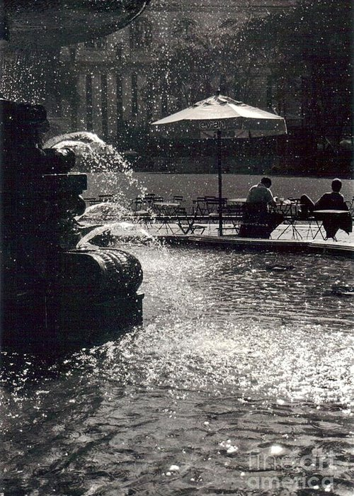 Bryant Park Greeting Card featuring the photograph Bryant Park by Christina Moreno