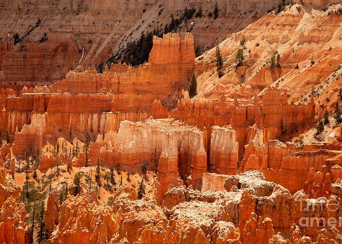 America Greeting Card featuring the photograph Bryce Canyon Landscape by Jane Rix