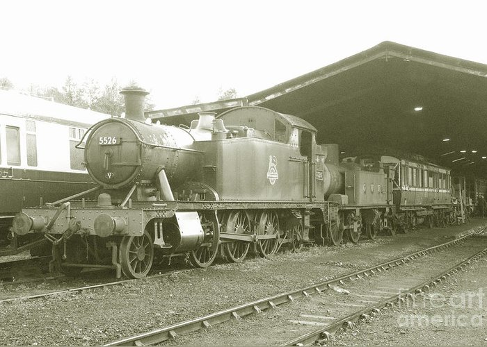 South Greeting Card featuring the photograph Buckfastleigh Shed by Rob Hawkins