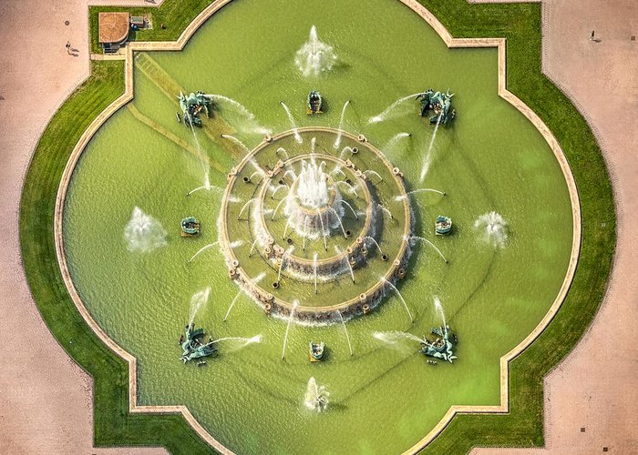Aerial Perspective Greeting Cards