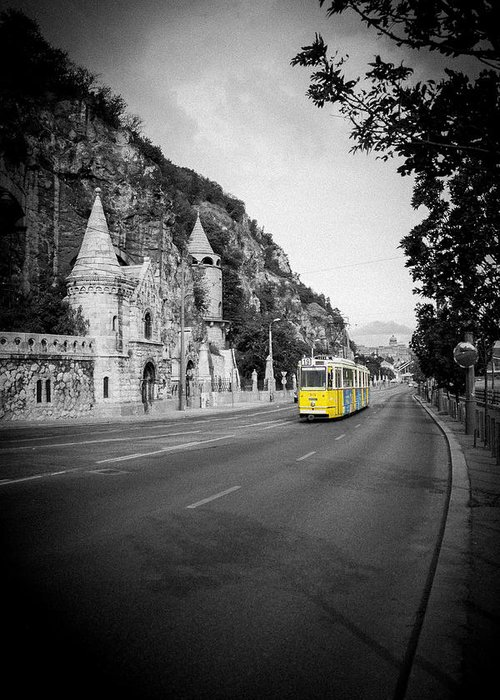 Budapest Greeting Card featuring the photograph Budapest Bw by Gabriel Radulescu