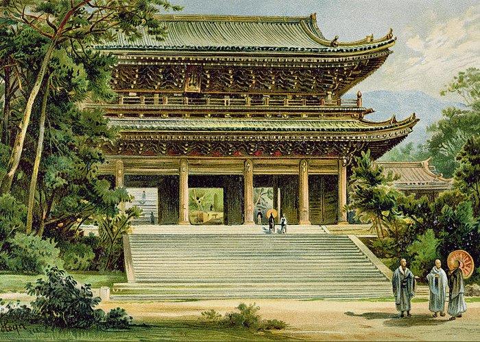 Kyoto Drawings Greeting Cards