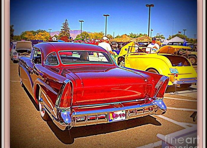 Buick Greeting Card featuring the photograph Buick Classic by Bobbee Rickard