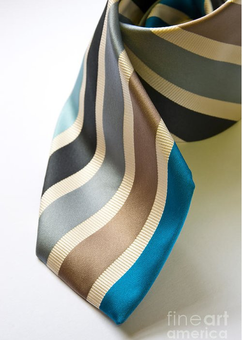 Apparel Greeting Card featuring the photograph Business Tie by Tim Hester