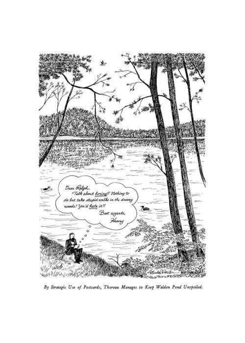 Walden Pond Greeting Cards