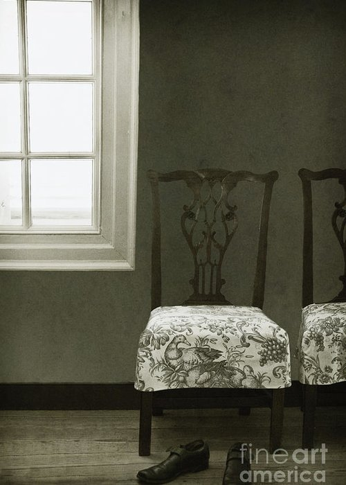 Chairs Greeting Card featuring the photograph By The Window by Margie Hurwich