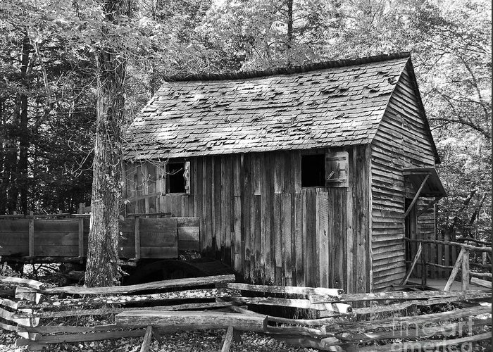 Cable Grist Mill Greeting Card featuring the photograph Cable Grist Mill 1 by Mel Steinhauer