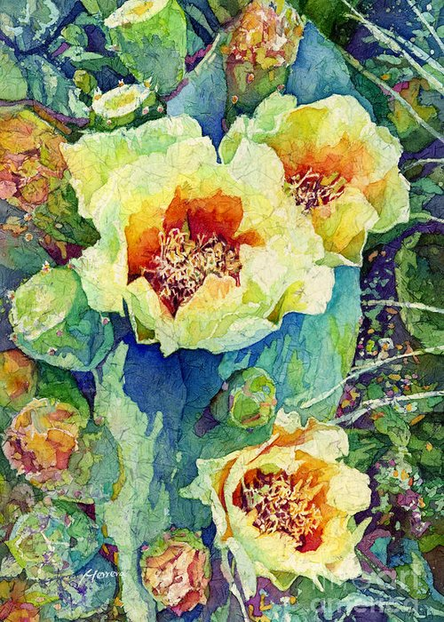 Prickly Pear Cactus Greeting Cards