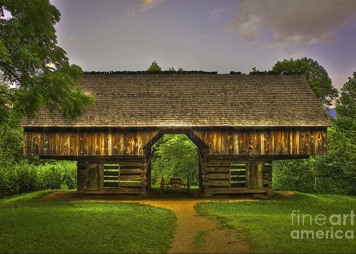 Cantilever Barn Greeting Cards