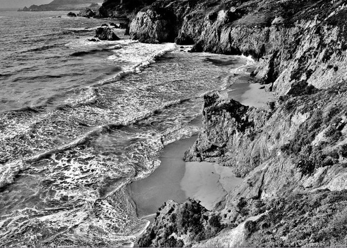 California Greeting Card featuring the photograph California Coast by Benjamin Yeager