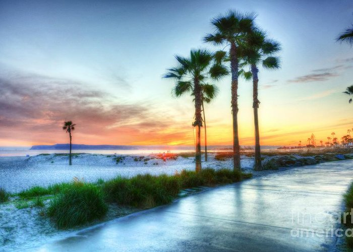 California Dreaming Greeting Card featuring the photograph California Dreaming by Mel Steinhauer
