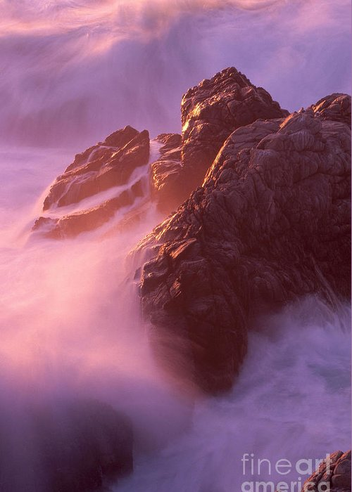 Monterey Peninsula Greeting Card featuring the photograph California Landscape by Art Wolfe