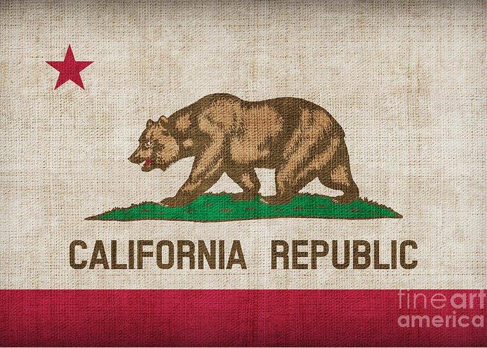 Californian Digital Art Greeting Cards
