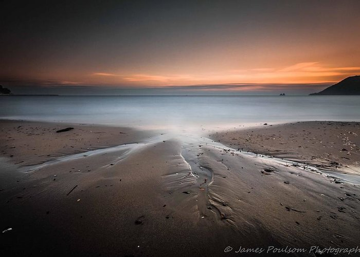 Landscape Greeting Card featuring the photograph Calm Down And Listen by James Poulsom