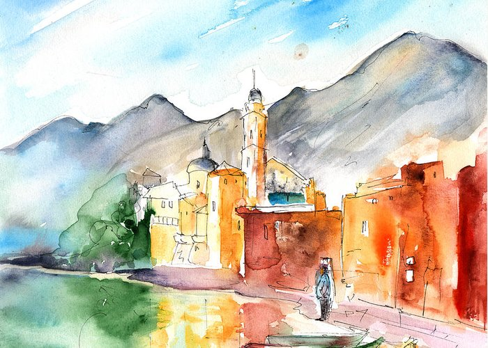 Travel Sketch Drawings Greeting Cards