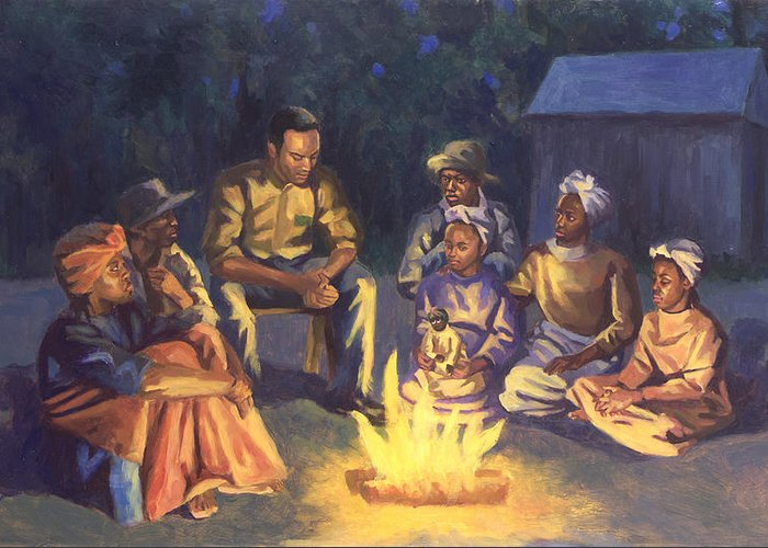 Campfire Stories Greeting Cards