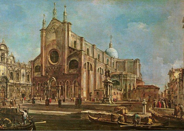 Scuola Di San Marco Greeting Cards