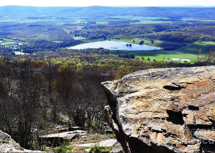Canaan Valley Greeting Card featuring the photograph Canaan Valley From Valley View Trail by Thomas R Fletcher