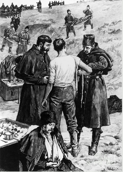 1885 Greeting Card featuring the photograph Canada: Riel Rebellion, 1885 by Granger