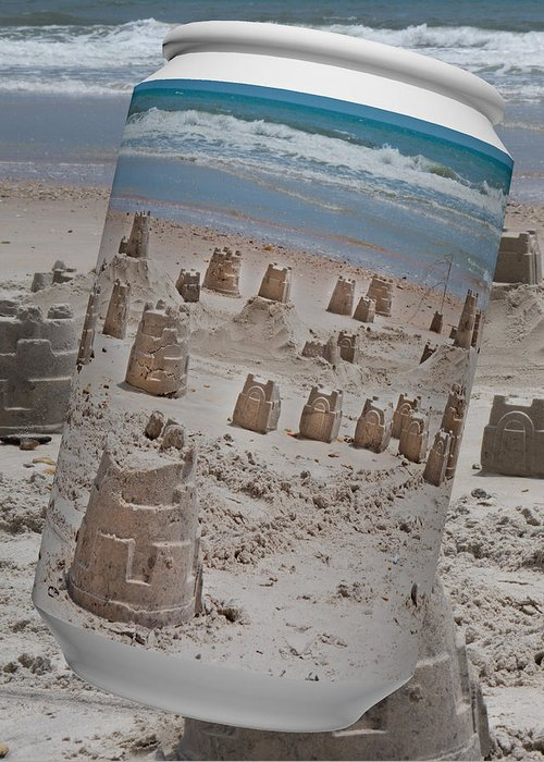 Sandcastles Greeting Cards