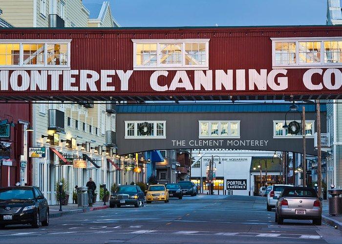 Scenes Of Monterey Greeting Cards