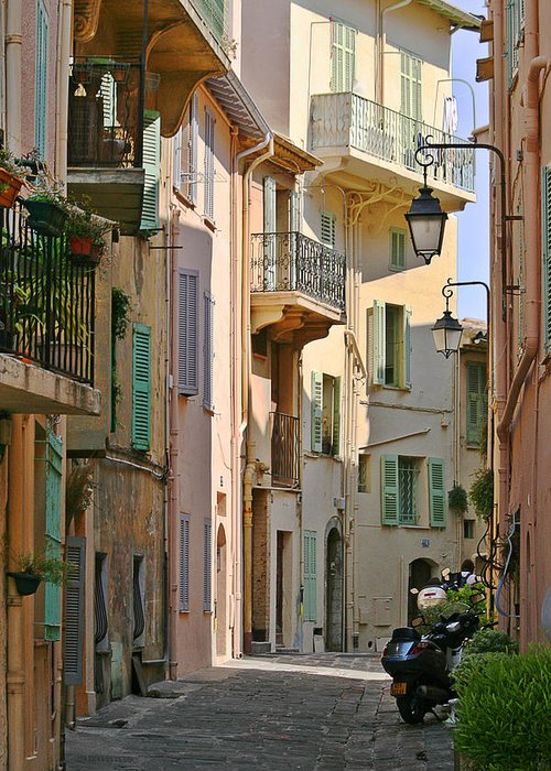 Le Greeting Card featuring the photograph Cannes - Le Suquet - France by Christine Till