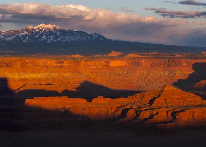 Canyonlands Greeting Card featuring the photograph Canyonlands Light by Joseph Rossbach