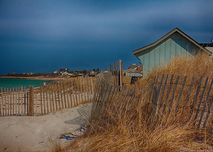 Cape Cod Greeting Card featuring the photograph Cape Cod Memories by Jeff Folger