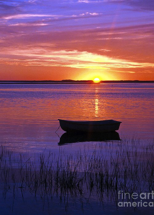 Cape Cod Greeting Card featuring the photograph Cape Cod Sunrise by John Greim