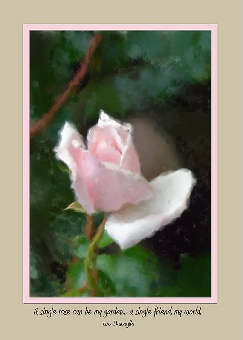 Flower Greeting Card featuring the photograph Card 0219 by Helen Ellis