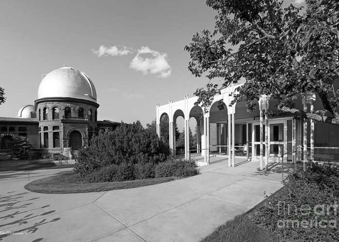 Carleton Greeting Card featuring the photograph Carleton College Goodsell Observatory by University Icons