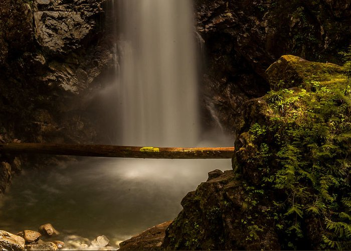Waterfalls Greeting Card featuring the photograph Cascade Falls 8 by Sabine Edrissi